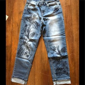 Earl cropped jeans size 4